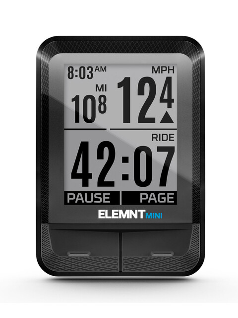 Wahoo Fitness Elemnt Mini Cycle Computer black
